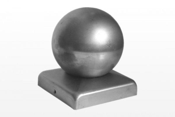 Metalinis kamštelis su rutuliu (kvadratinis pagrindas)