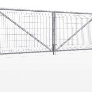 Varstomi vartai su segmento užpildu