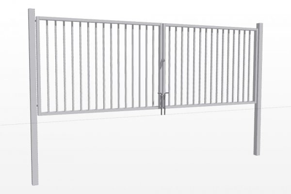 Varstomi vartai su strypelių užpildu